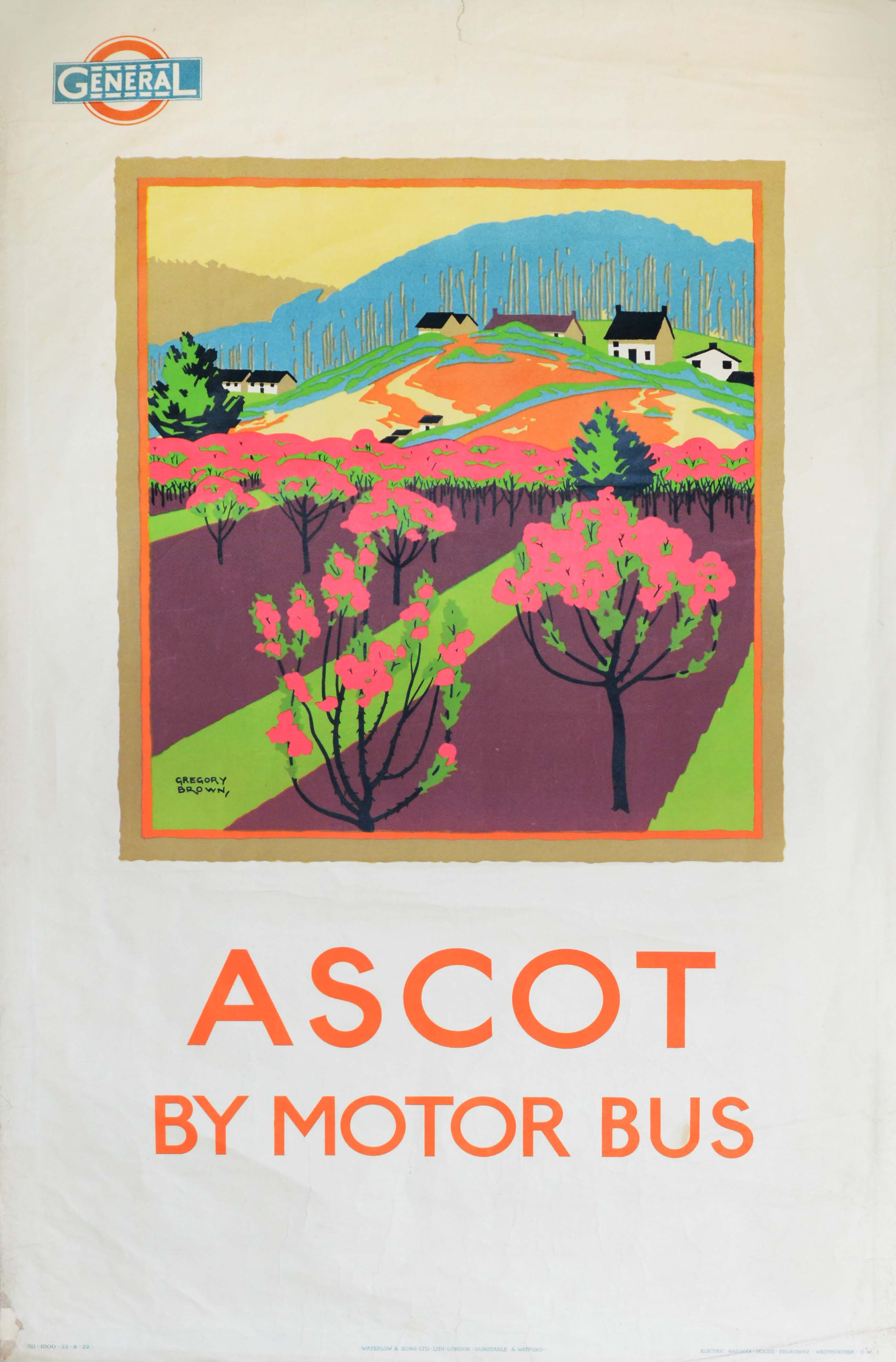 Ascot By Motor Bus  sc 1 st  Red Door Posters & Transport   Product categories   Red Door Posters pezcame.com